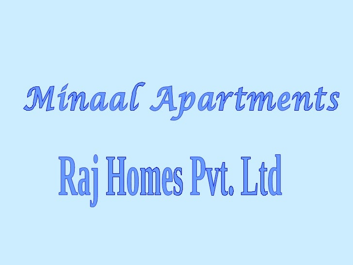 Minaal apartments