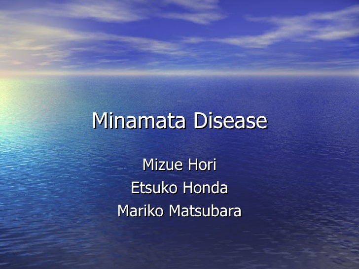 minamata disaster case study Fish on the shore of the minamata bay minamata disease came about case-study-2.
