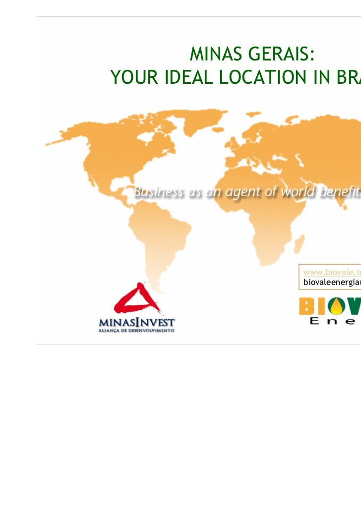 Minas gerais   your ideal biodiesel plant location in brazil pdf