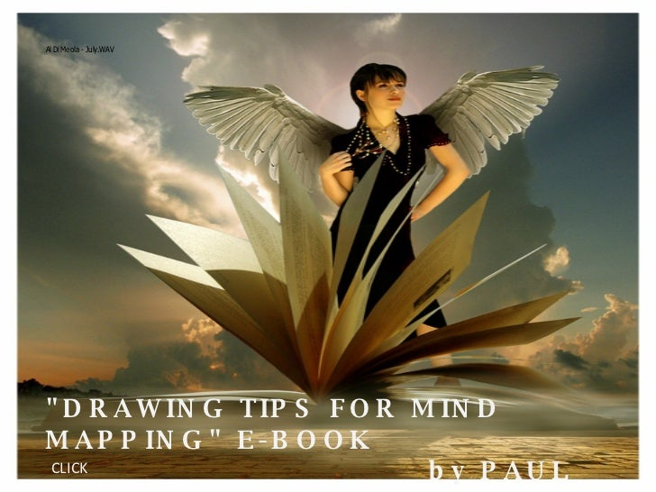 """DRAWING TIPS FOR MIND MAPPING"" E-BOOK by PAUL FOREMAN CLICK"