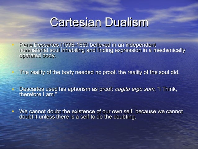 What is radical dualism?