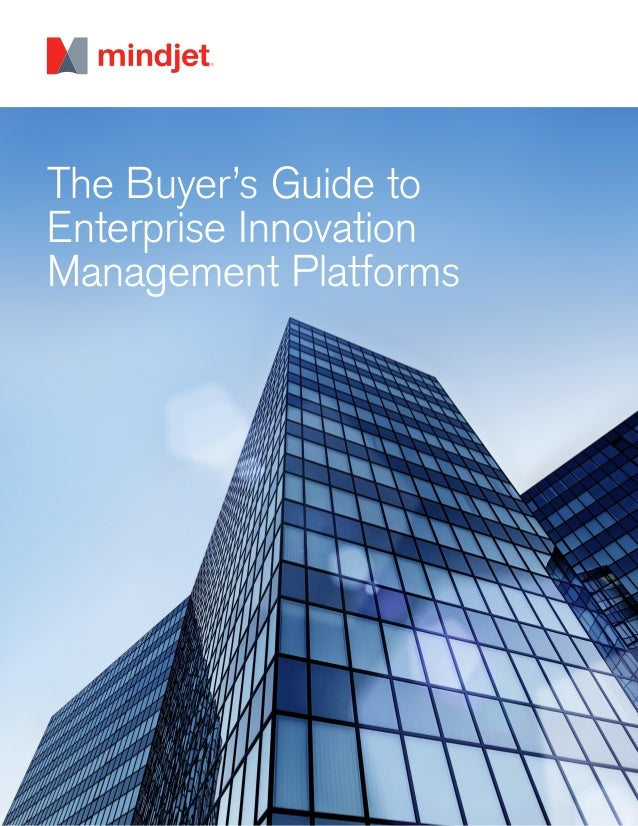 The Buyer's Guide to Enterprise Innovation Management Platforms