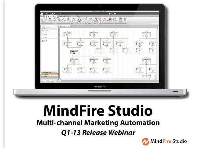 MindFire StudioMulti-channel Marketing Automation       Q1-13 Release Webinar