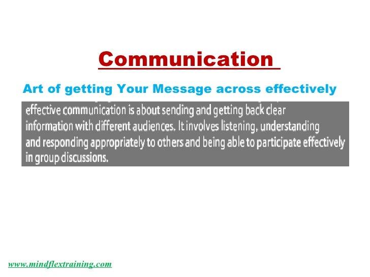 Mindflex Communication Skills