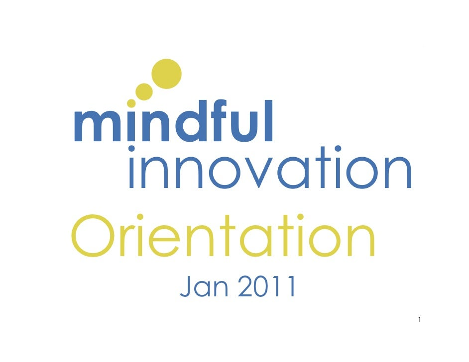 Orientation Dec 2010