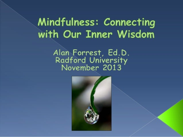 Mindfulness inner wisdom