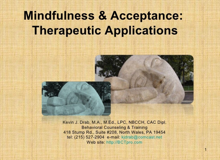 Mindfulness & Acceptance Powerpoint