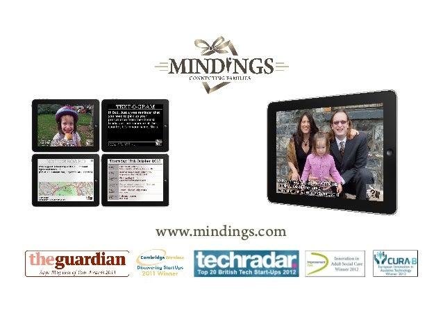 "Mindings ""Pitch10"" Presentation 2014"
