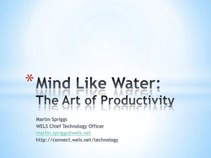 Martin Spriggs<br />WELS Chief Technology Officer<br />martin.spriggs@wels.net<br />http://connect.wels.net/technology<br ...