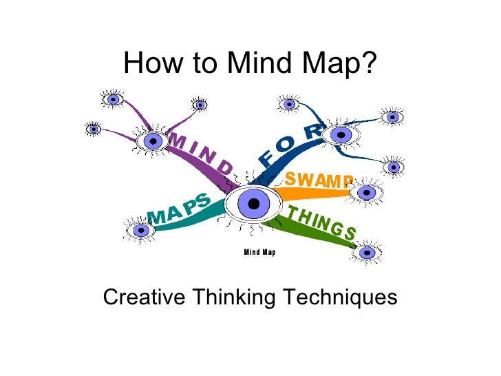 How to Mind Map? Creative Thinking Techniques