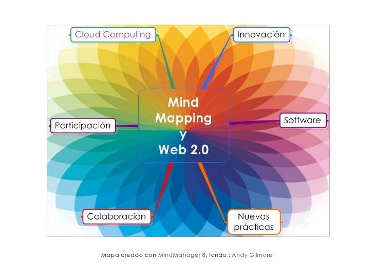 Mapa creado con MindManager 8, fondo : Andy Gilmore