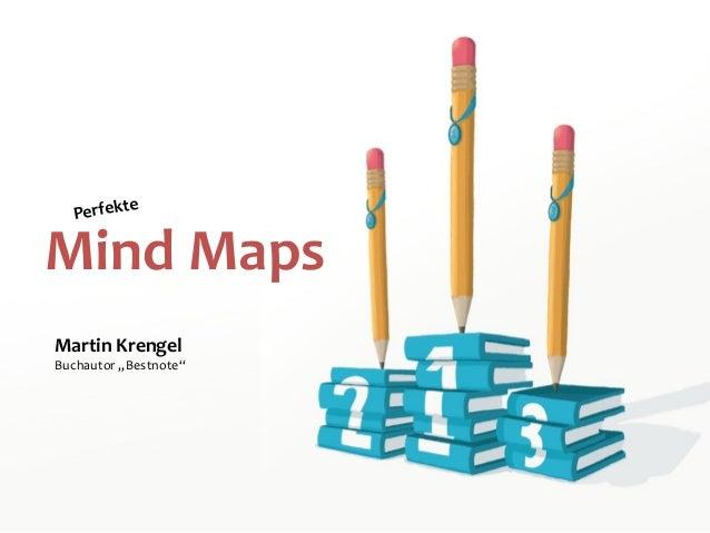 "Mind Maps Perfekte Martin Krengel Buchautor ""Bestnote"""