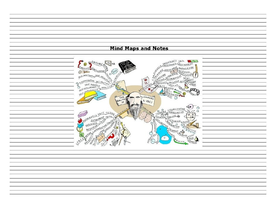 "After creating a Mind Map such as the example            below ""The Qualities of Leonardo da Vinci""         you can use pa..."
