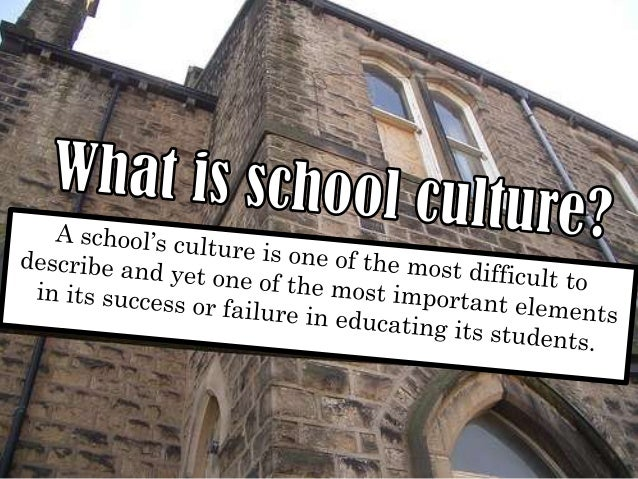  described   as the sum of all perceptions & emotions attached to the school, both good & bad, held by students, faculty,...