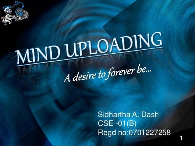 1 Sidhartha A. Dash CSE -01(B) Regd no:0701227258