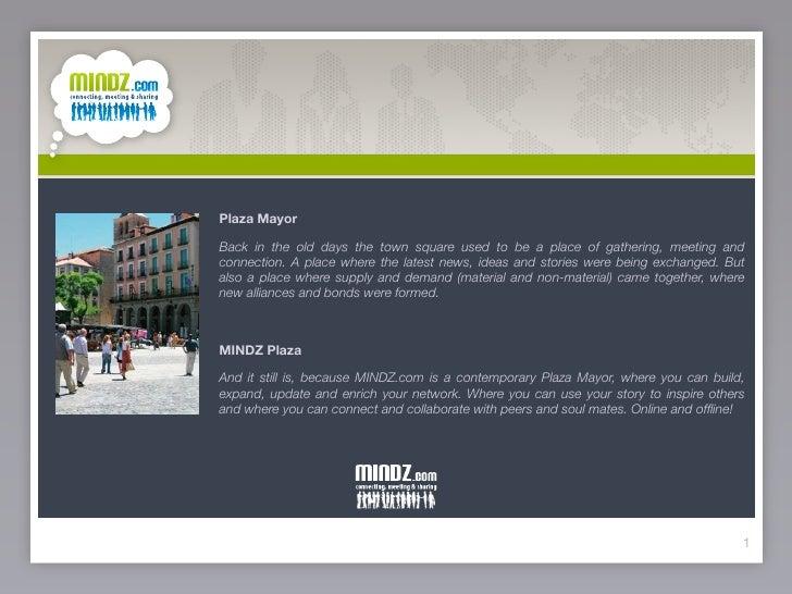 MINDZ.com | Presentatie Cases 19-05-2009