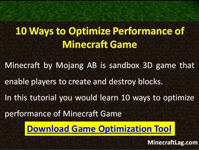 10 Super Tips To Improve Minecraft Performance