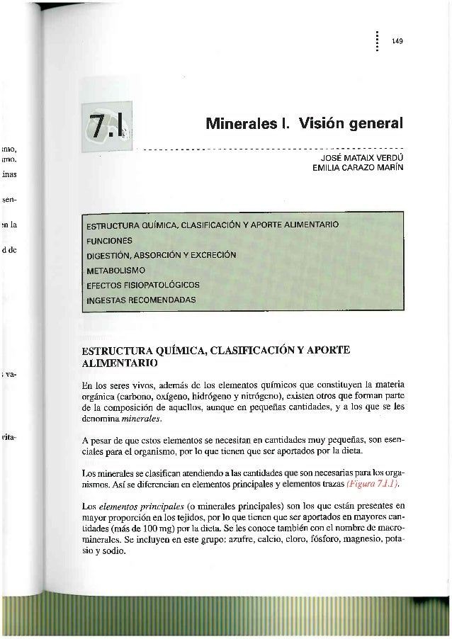 Minerales  (generalidades)