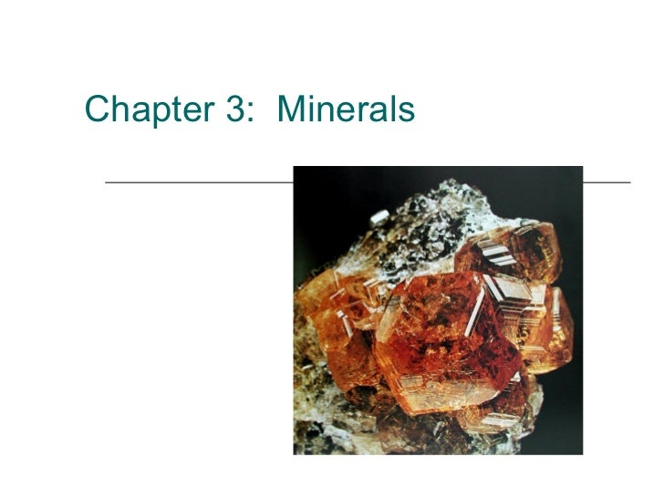 Mineral ppt 2