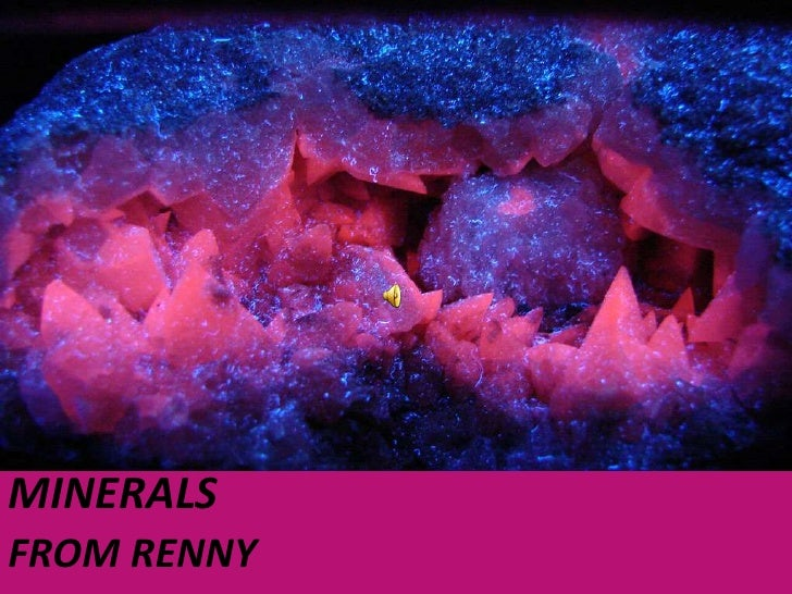 MINERALS<br />FROM RENNY<br />