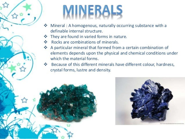 minerals and energy resources On this site you will find information about tribes who wish to develop their energy  and mineral resources, the types of business opportunities available, and how.