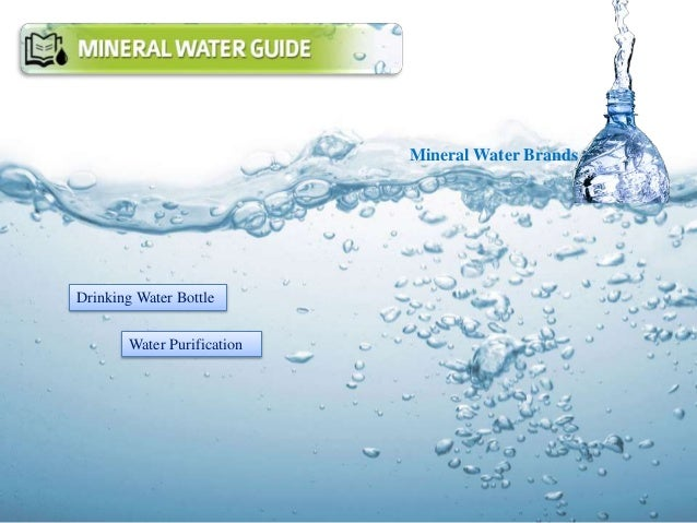 Mineral Water Brands