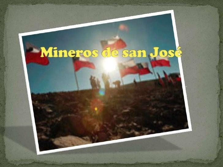 Mineros de san José<br />