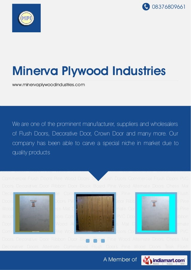 Teak flush doors by minerva plywood industries for Teak wood doors in visakhapatnam