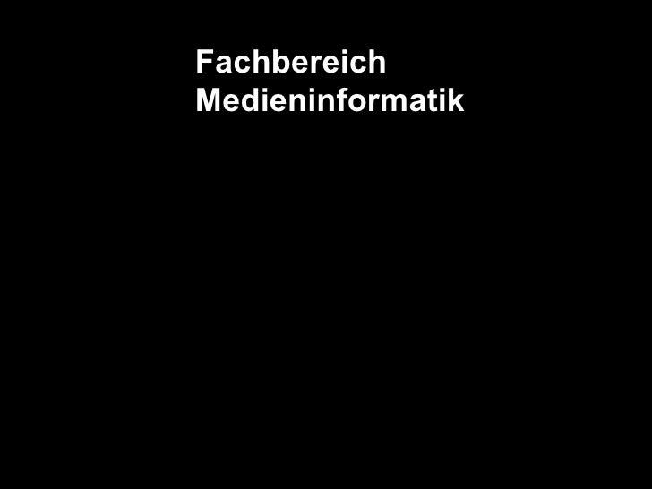 Fachbereich Medieninformatik