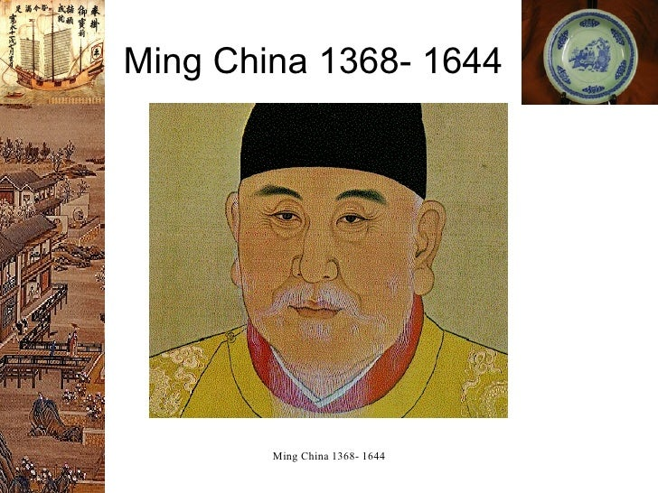AP Ming Dynasty Powerpoint