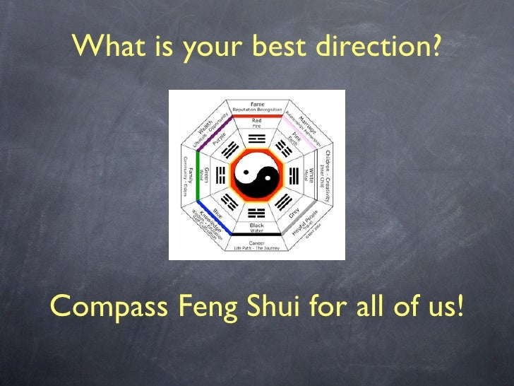 What is your best direction?                      Compass Feng Shui for all of us!