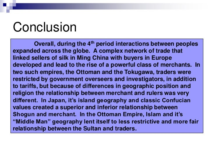 Comparative essay conclusion