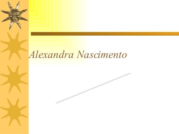 Alexandra Nascimento Minha história na EIC