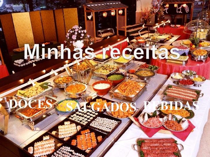 DOCES   SALGADOS BEBIDAS