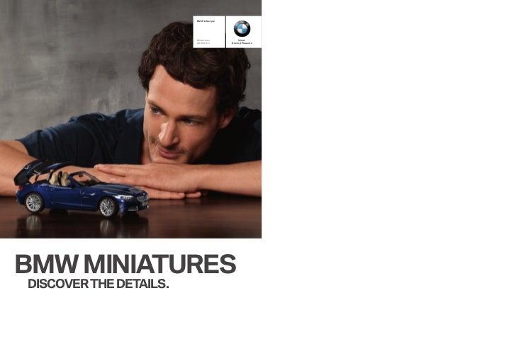 BMW Lifestyle                        Miniatures           Sheer                        2010/2011       Driving PleasureBMW...