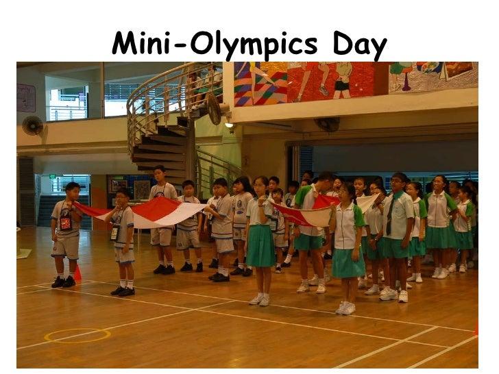 Mini-Olympics Day