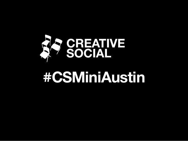#CSMiniAustin