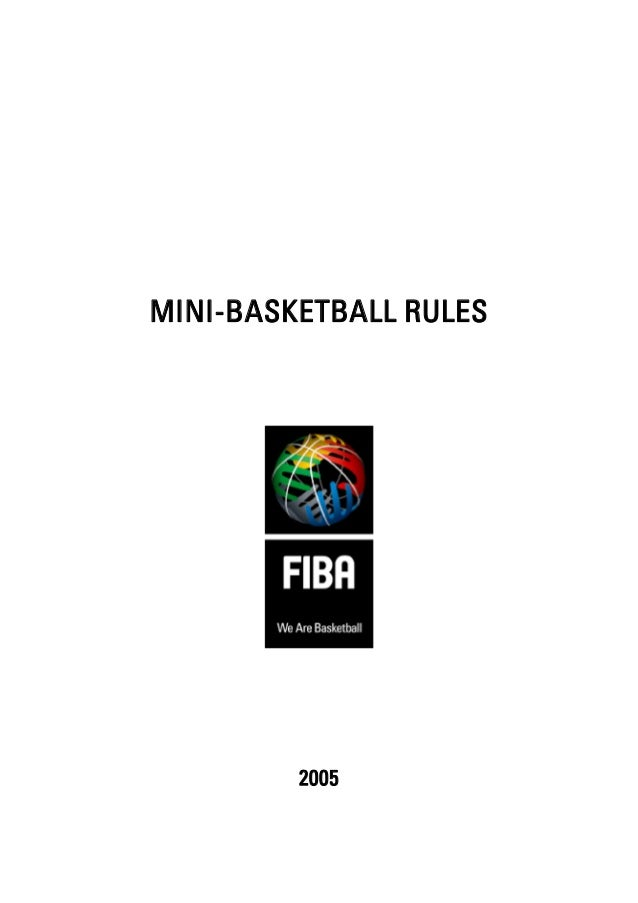 Mini basketball rules 2005