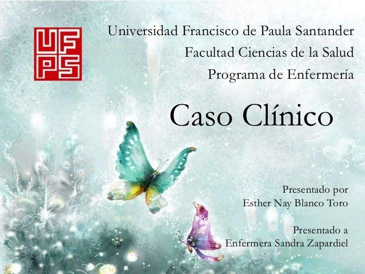 Universidad Francisco de Paula Santander            Facultad Ciencias de la Salud                Programa de Enfermería   ...