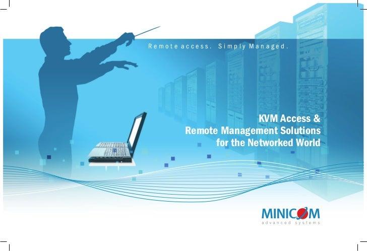 Minicom's KVM Catalogue 2011
