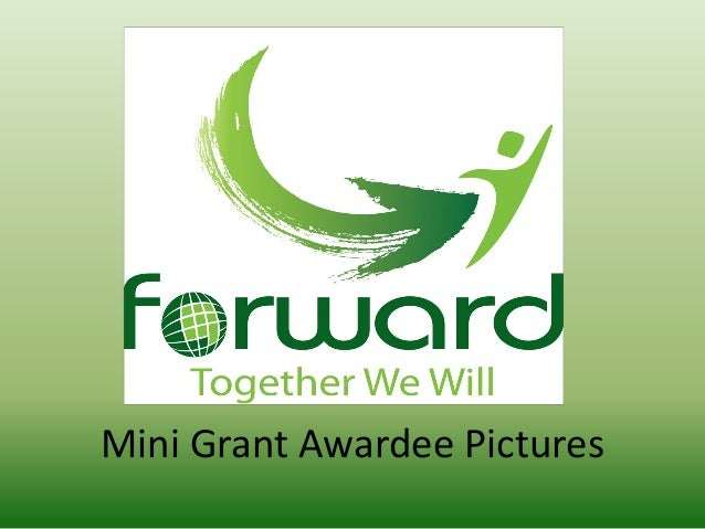 Mini Grant Awardee Pictures