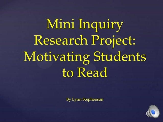 Mini Inquiry Research Project