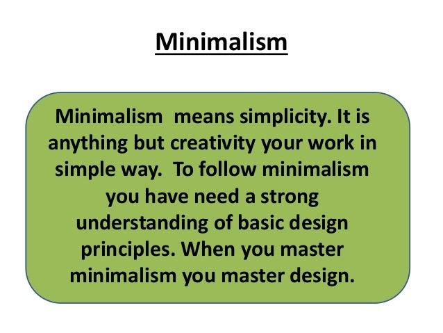 Minimalism ein einfaches leben for Leben als minimalist