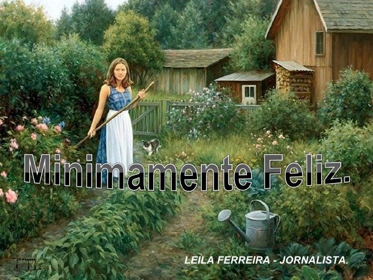 LEILA FERREIRA - JORNALISTA.