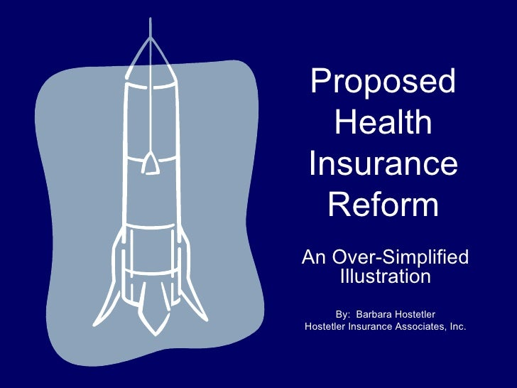 A Simple Explanation of Health Insurance Reform