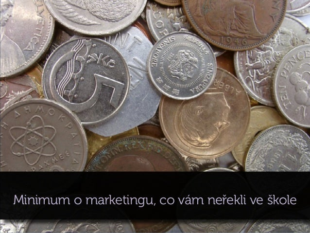 Minimum o marketingu