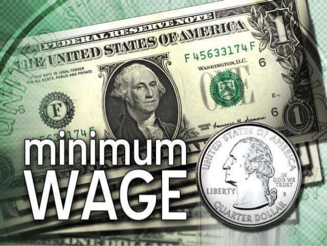 Concept on minimum wagesIt is such a wage that it notonly guarantees baresubsistence and preservesefficiency but also prov...