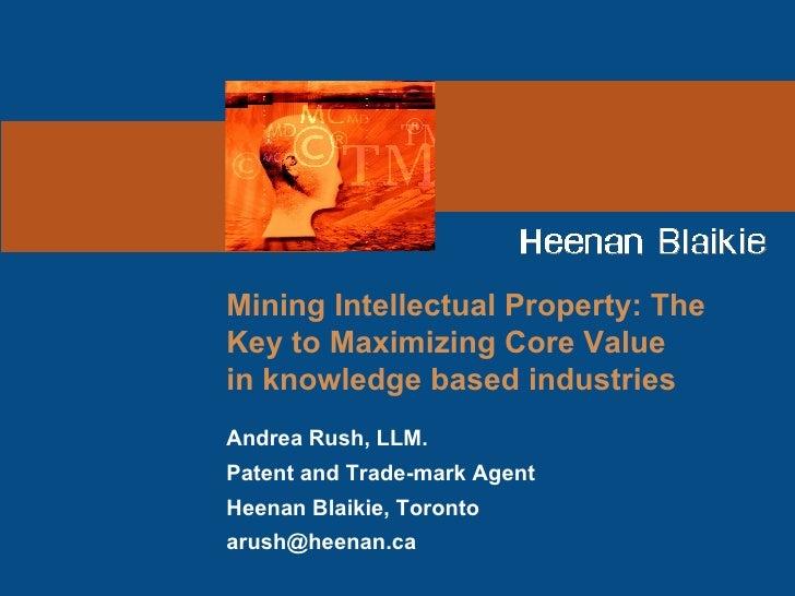 Mining IP Value