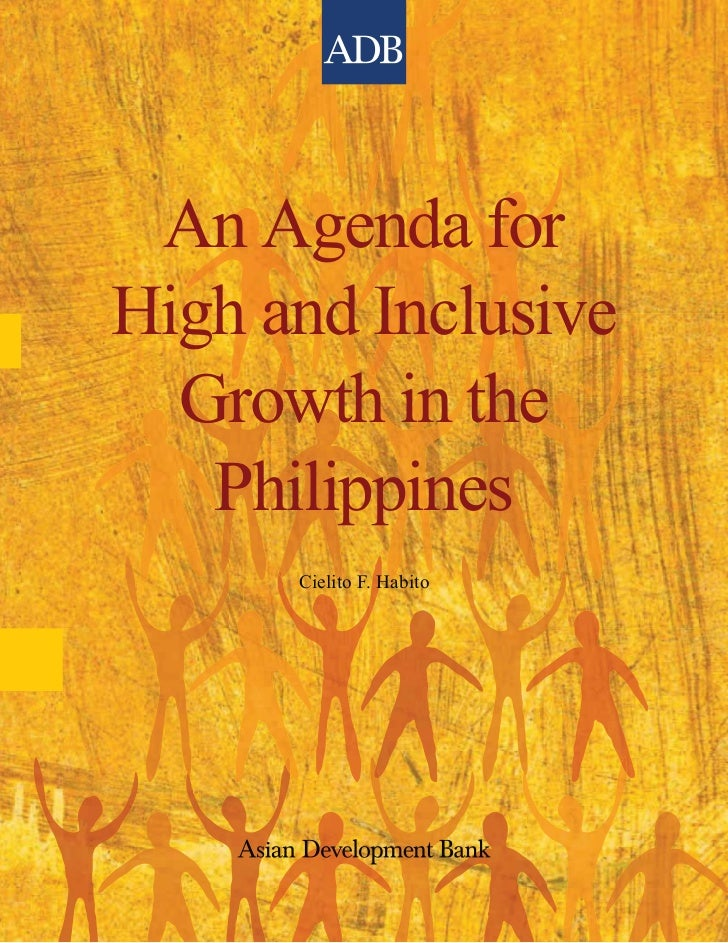 Agenda for High and Inclusive Growth In the Philippines - Mining