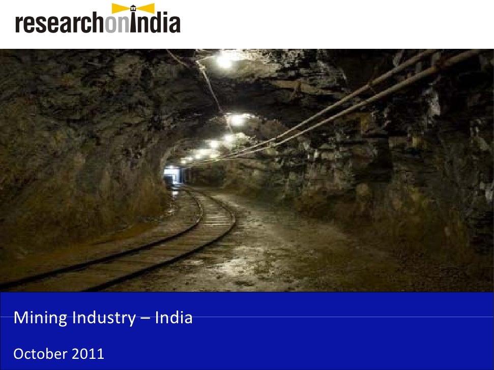 Mining in India